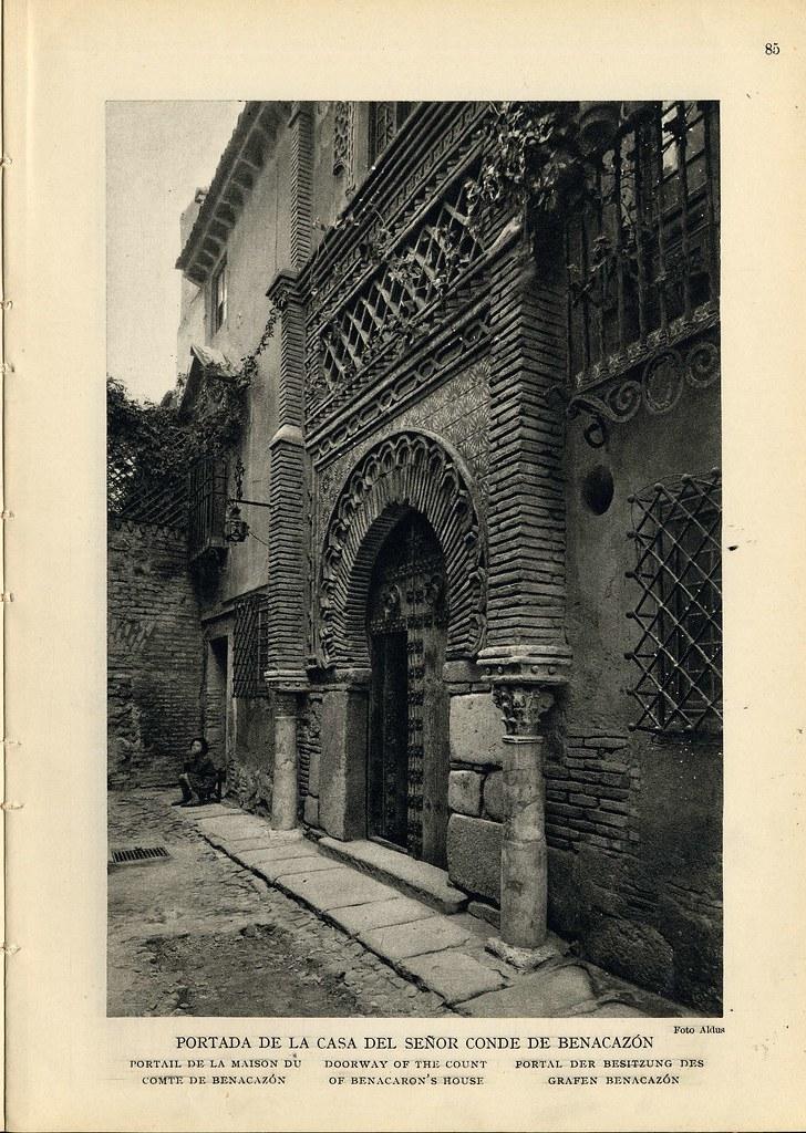 Palacio de Benacazón hacia 1920. Foto Aldus.