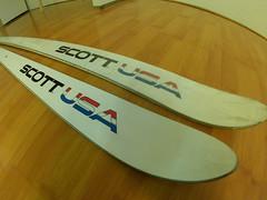 Lyže SCOTT USA - Factory test - historický kousek - titulní fotka