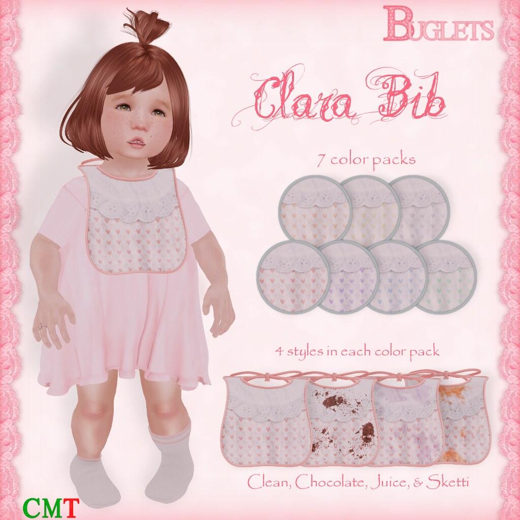Clara Bib AD - SecondLifeHub.com
