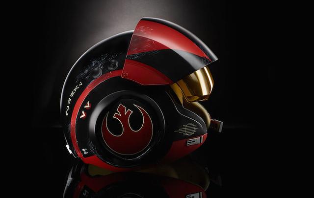 孩之寶 - 《星際大戰》黑標系列:波·戴姆倫 電子音效頭盔 Black Series Poe Dameron Electronic Helmet