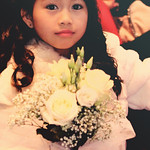 Lia at the Winter Wedding