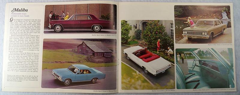 RD12674 1966 Chevy Chevrolet Chevelle Super Sport SS Malibu Brochure Catalog DSC08665