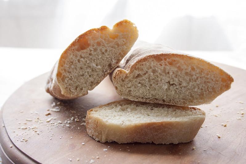 mixed starter bread