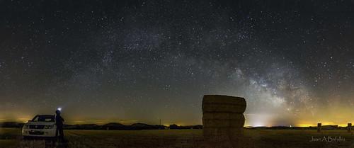 Vía Láctea tras la cosecha