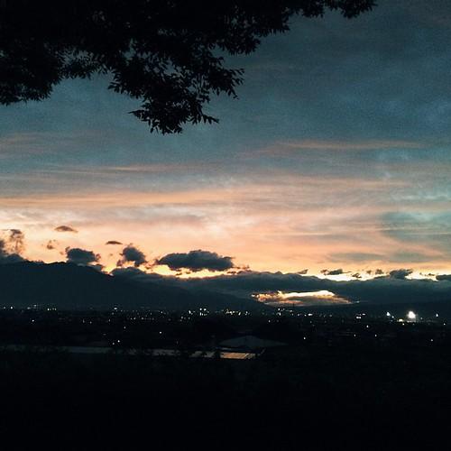 夕日を見る幸せ #vscocam