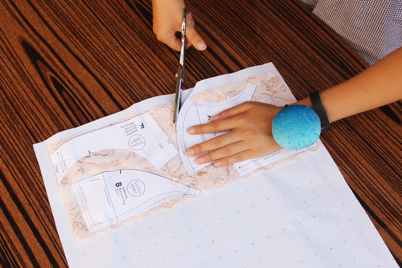 Bra Making Pattern Cutting