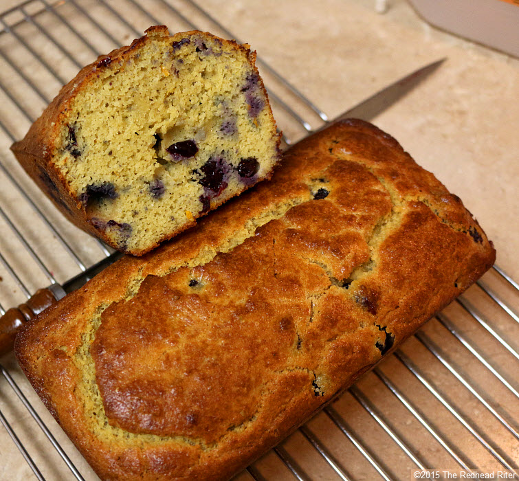 grain free blueberry bread Putting Positives Together