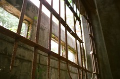 Old Japanese Jail Cell Bars