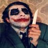 Why so serious? _____________________________________ #Zurriuss #joker #batman #jokerquotes #whysoserious #makeup #freak #freaking #jokermakeup #instamakeup #darkknight #thedarkknight #selfie #knife #moviecharacters #movies #jokersmile #heathledger