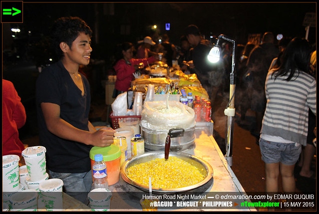 BAGUIO ▬ NIGHT MARKET IN HARRISON ROAD