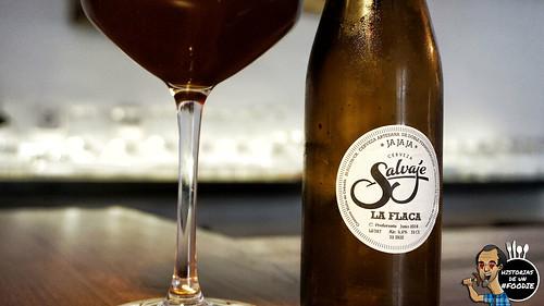 Cerveza Salvaje, La flaca