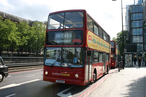 Southern Transit TA1 on Route 205, Euston Square