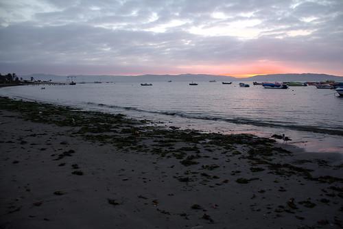 ocean sunset peru water h2o paracas pacafic