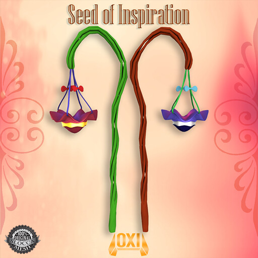 OXI - Gaia Staff -Seed of Inspiration for Gacha Garden