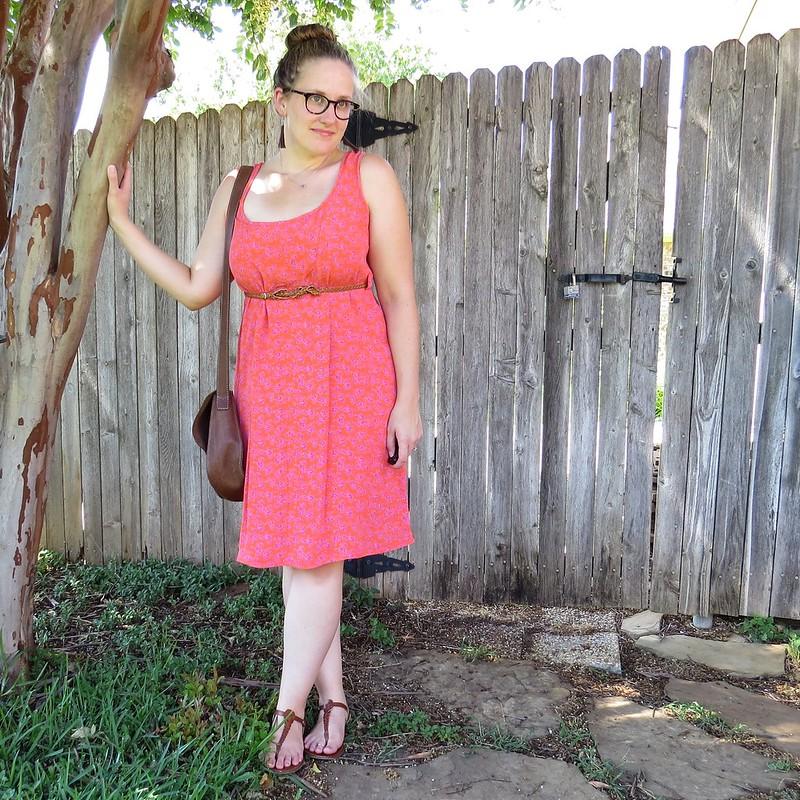 Orange You Glad Dress - After