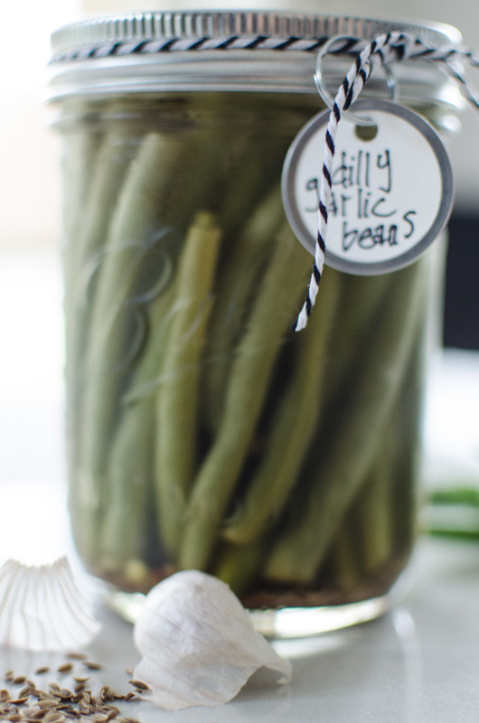 Refrigerator Dilly Garlic Beans