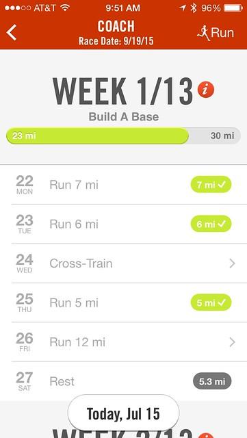 Summer Nike Coach app