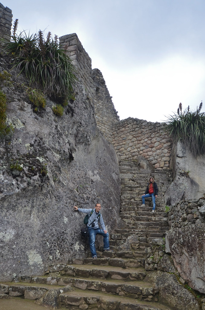 Escalinatas de Machu Picchu
