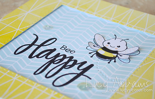 Bee Happy 2 by Lucy Abrams