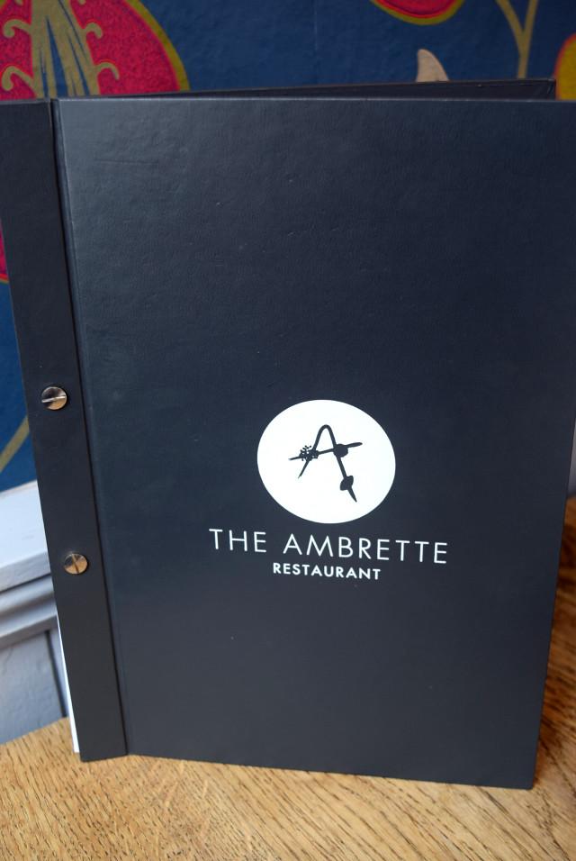 Wine List at The Ambrette, Canterbury
