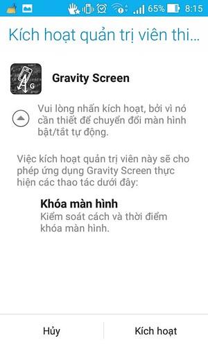 Giới thiệu một vài ứng dụng nhỏ thay thế nút nguồn trên Android. - 82912