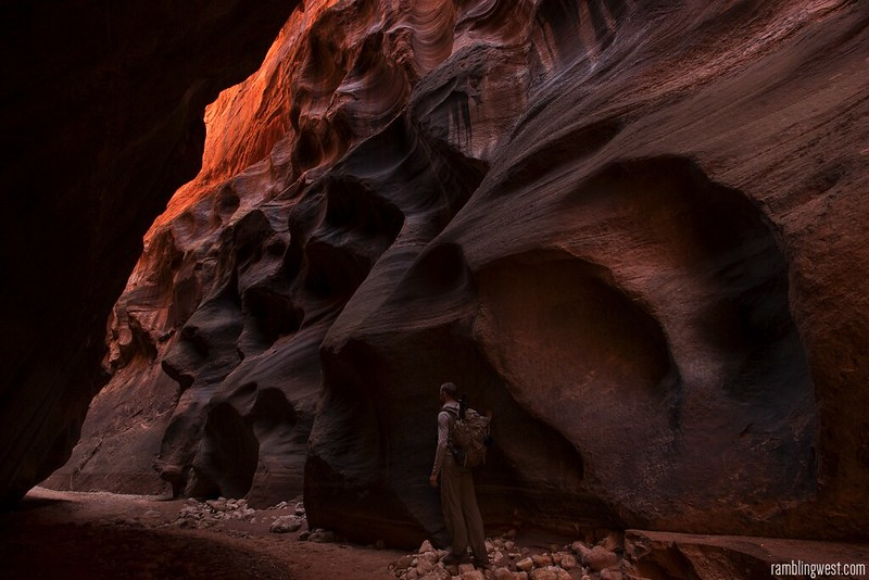 Sculpted Rock..., Buckskin Gulch image