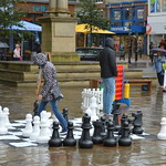 Giant Games on Preston Flag Market