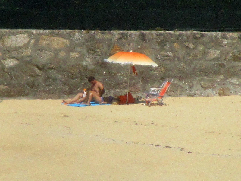 Hopper del fondo de la playa