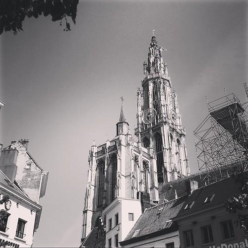 Fiandre: la cattedrale di Anversa