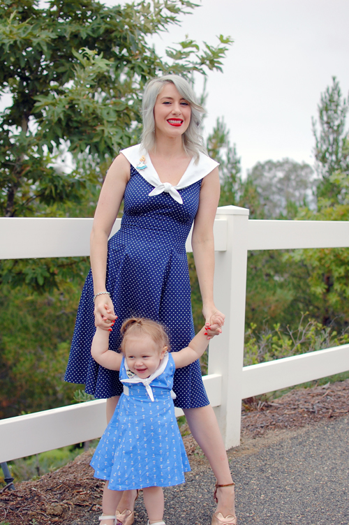 Heart of Haute Sailor dress