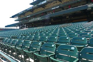 AT&T Park Tour - Empty Seat