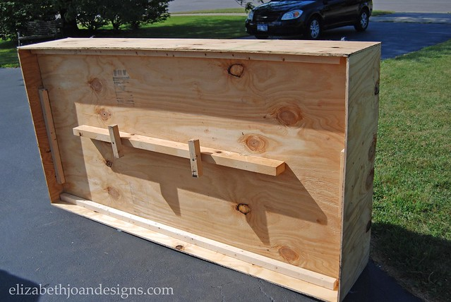 DIY Plywood Bed Frame
