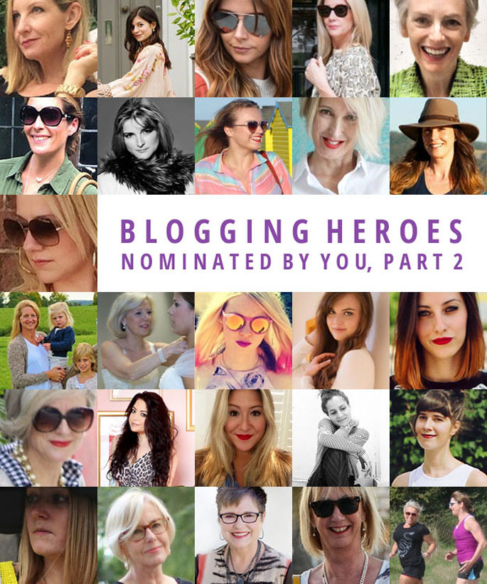 52 Blogging Heroes as nominated by my readers (part 2)