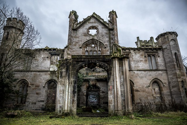 Cambusnethan Priory in Scotland