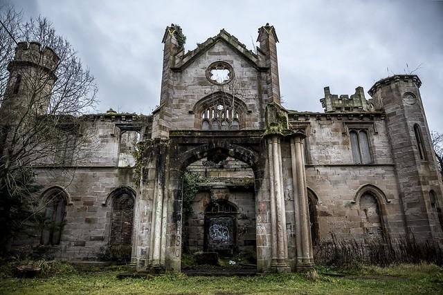 Cambusnethan Priory in Scotland