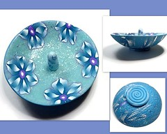 polymer clay Ring Dish
