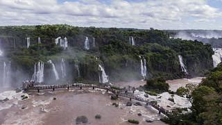 Mirador de la Garganta del Diablo, Cataratas del Iguazú, Brasil