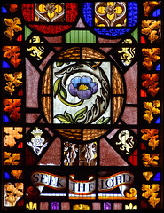 Seek The Lord (continental domestic glass, composite)