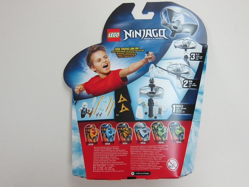 70742 - LEGO Ninjago Airjitzu Zane Flyer - Back