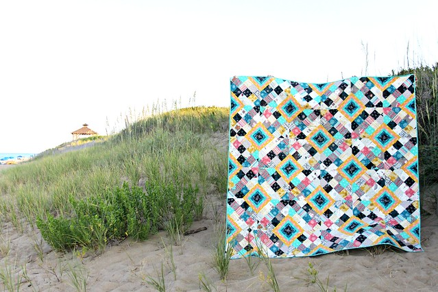 A Crisscross Diamond Quilt