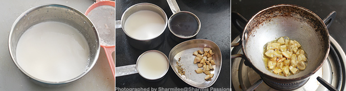 How to make Aadi Paal Recipe - Step2