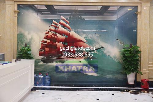 Gạch ốp tường 3D Thuận Buồm Xuôi Gió
