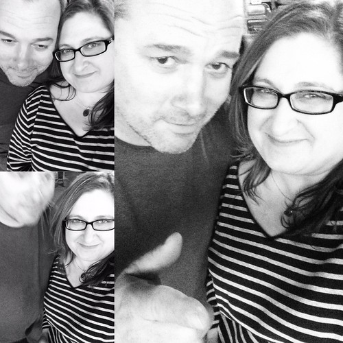 I think we might be getting better at this whole couple selfie thing.