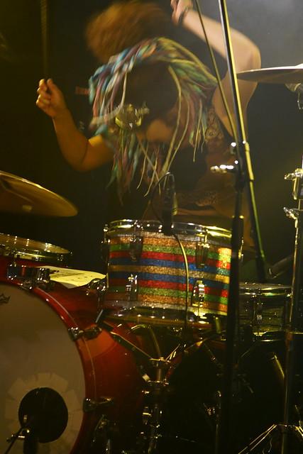Coal Tar Moon live at 獅子王, Tokyo, 17 Jul 2015. 093