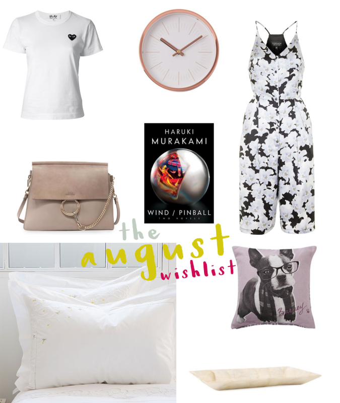 Hong Kong Lifestyle and Fashion Blog: August wishlist, Zara Home, Commes des Garcons Play, Francfranc