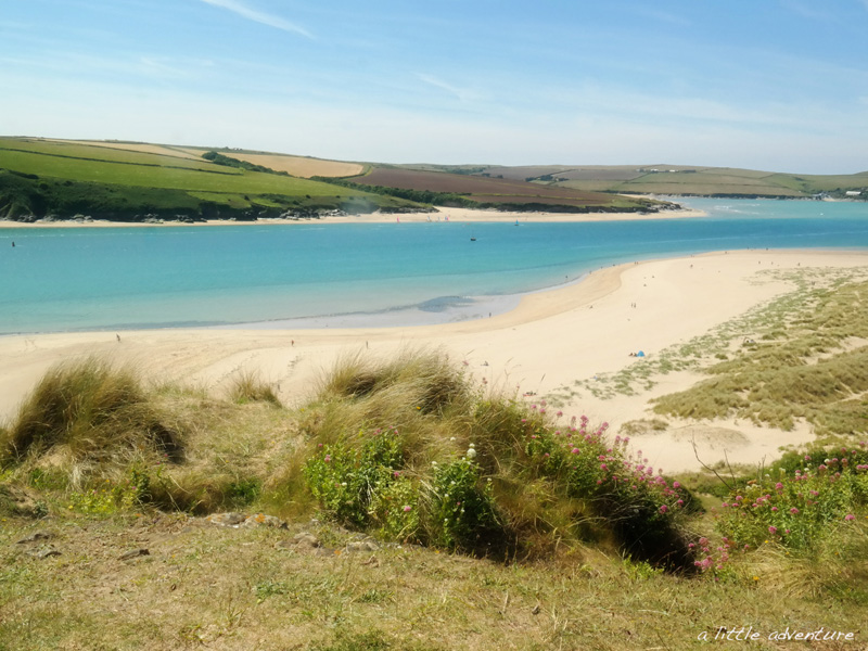 The Atlantic coast near Padstow, Cornwall @ alittleadventure.net