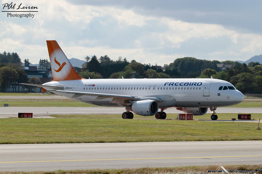 TC-FHC - A320 - Freebird Airlines