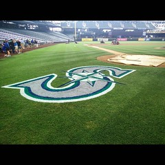 July 24, 2015 - 16:52 - On the field at SafeCo in Seattle. #baseball #mlb #seattle #mariners #tour #beisbol #ballpark #chasers