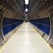 London tube corridor by Carlos ZGZ