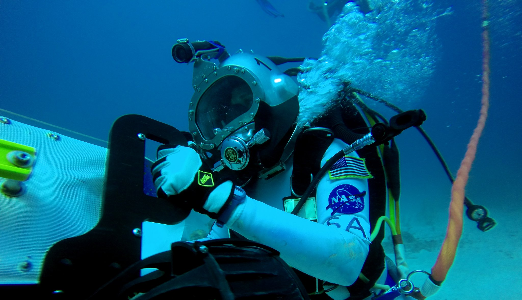 NEEMO Undersea Crew Tests Tools and Techniques For Future Spacewalks